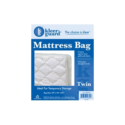 Plastic Bag for Twin Mattress - 2.0 mil Clear Polyethylene