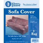 Heavy Duty Plastic Sofa Cover - 2.0 Mil Plastic image