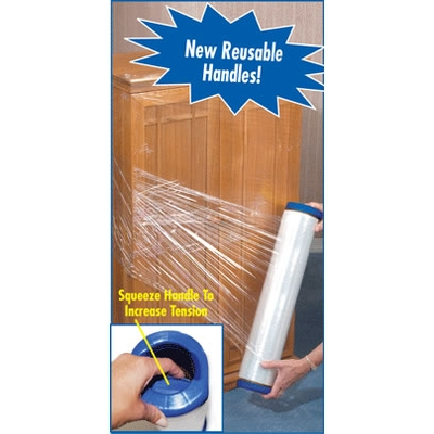 Stretch-Pro® Stretch Wrap w/ Dispenser - 10''x1000'