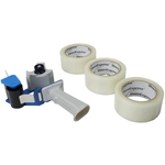 2'' Packing Tape w/ Tape Dispenser - 3 Rolls image