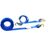 Cam Buckle Straps - 2'' x 20' w/ F Hooks & Spring E Fittings image
