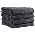 The BEST Cotton Moving Blankets 4-Pack image