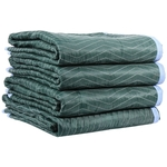 Multi Color Moving Blankets (75 Lbs/Dozen) 4-Pack image