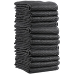 Economy Moving Blankets (65 Lbs/Dozen) 12-Pack image