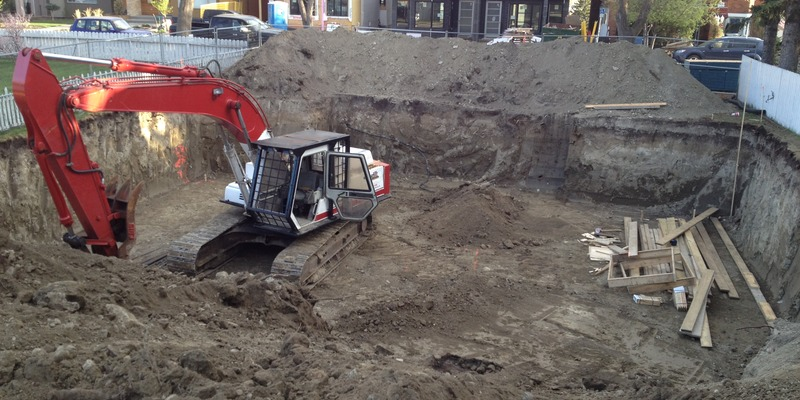 digging basement