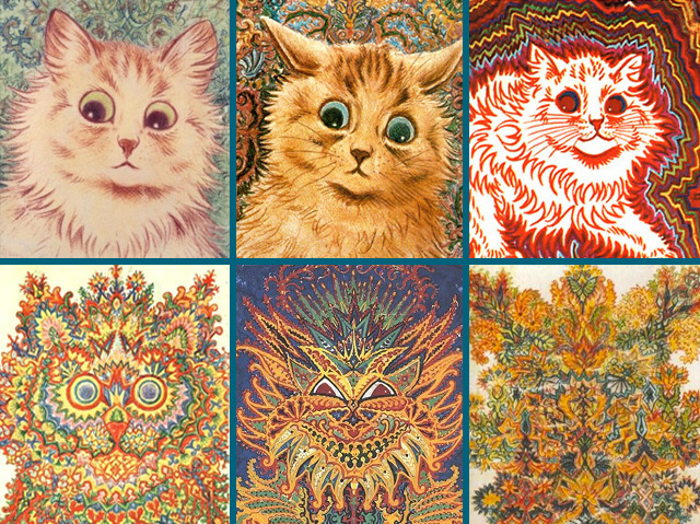 Kaleidoscopic Cats