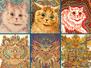 Kaleidoscopic Cats