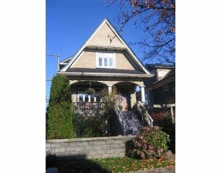 Main Photo: 1735 E 2ND AV in Vancouver: Grandview VE House for sale (Vancouver East)  : MLS® # V565839