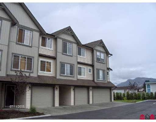 "Main Photo: 9 8917 EDWARD ST in Chilliwack: Chilliwack  W Young-Well Townhouse for sale in ""GABLES"" : MLS®# H2502521"