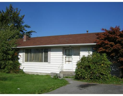 Main Photo: 10171 WILLIAMS RD in Richmond: 80 McNair House for sale (RI Richmond)  : MLS(r) # V613714