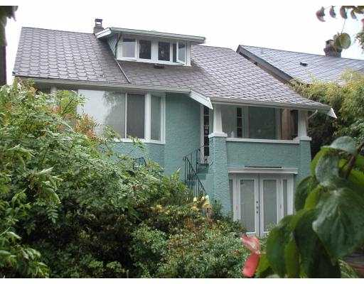 Main Photo: 4484 W 13TH AV in Vancouver: Point Grey House for sale (Vancouver West)  : MLS®# V540482
