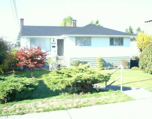 Main Photo: 1385 SHERLOCK Ave in Burnaby: Sperling-Duthie House for sale (Burnaby North)  : MLS® # V618460