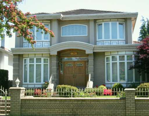 "Main Photo: 6638 FREMLIN ST in Vancouver: South Cambie House for sale in ""SOUTH CAMBIE"" (Vancouver West)  : MLS® # V592223"