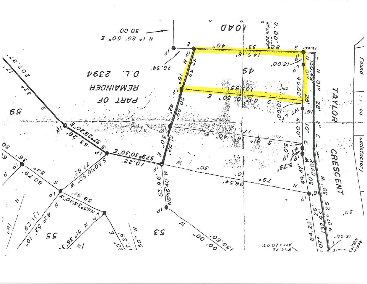 FEATURED LISTING: LOT 49 TAYLOR Crescent Halfmoon Bay