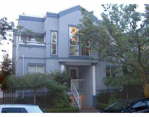 "Main Photo: 11 877 W 7TH AV in Vancouver: Fairview VW Townhouse for sale in ""EMERALD COURT"" (Vancouver West)  : MLS® # V601474"