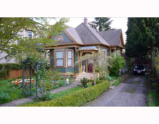 Main Photo: 214 4TH Ave in New Westminster: Queens Park House for sale : MLS®# V644679