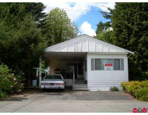 "Main Photo: 11 6280 KING GEORGE Highway in Surrey: Sullivan Station Manufactured Home for sale in ""White Oaks"" : MLS®# F2711560"