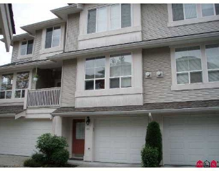 "Main Photo: 66 14952 58TH Avenue in Surrey: Sullivan Station Townhouse for sale in ""Highbrae"" : MLS® # F2725539"