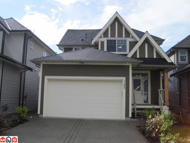 Main Photo: 7285 199TH ST in Langley: Willoughby Heights House for sale : MLS® # F1123791