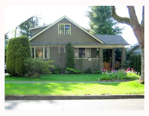 Main Photo: 5025 ANGUS Drive in Vancouver: Quilchena House for sale (Vancouver West)  : MLS(r) # V647392