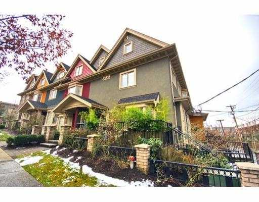 "Main Photo: 2261 CAROLINA Street in Vancouver: Mount Pleasant VE Townhouse for sale in ""CAROLINA ON 7TH"" (Vancouver East)  : MLS® # V687041"