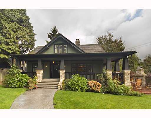 Main Photo: 1121 CONNAUGHT Drive in Vancouver: Shaughnessy House for sale (Vancouver West)  : MLS® # V669109