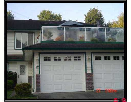 "Main Photo: 46 34250 HAZELWOOD AV in Abbotsford: Central Abbotsford Townhouse for sale in ""Still Creek"" : MLS®# F2622228"