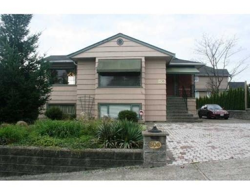 Main Photo: 608 14TH ST in New Westminster: House for sale : MLS® # V857486