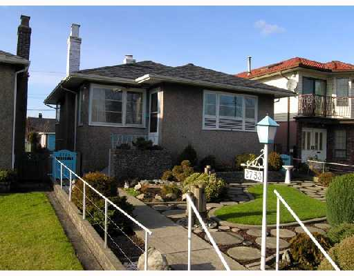 Main Photo: 2753 NANAIMO Street in Vancouver: Grandview VE House for sale (Vancouver East)  : MLS® # V683682
