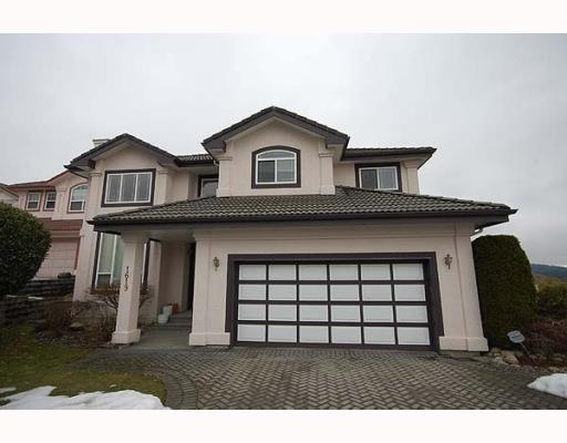 Main Photo: 1619 PINETREE WY in Coquitlam: House for sale : MLS(r) # V751948