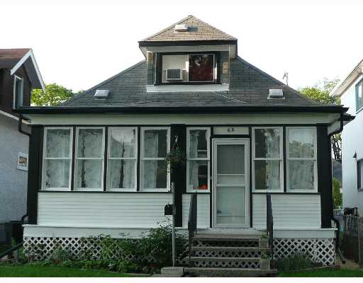 Main Photo: 63 HART Avenue in WINNIPEG: East Kildonan Single Family Detached for sale (North East Winnipeg)  : MLS® # 2710749