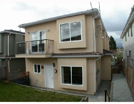 Main Photo: 4952 DOMINION Street in Burnaby: Central BN House 1/2 Duplex for sale (Burnaby North)  : MLS® # V702179