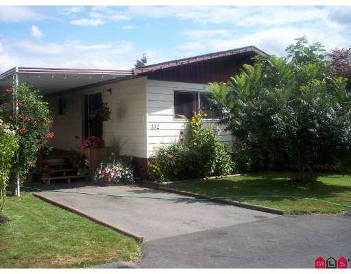 "Main Photo: 132 3300 HORN ST in Abbotsford: Abbotsford West Manufactured Home for sale in ""Georgian Park"" : MLS® # F2617359"