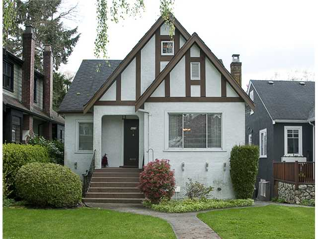 Main Photo: 4028 W 31ST AV in Vancouver: Dunbar House for sale (Vancouver West)  : MLS® # V888665