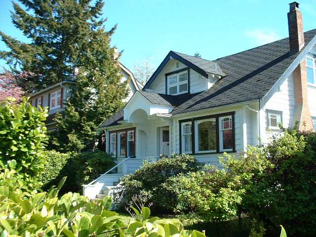 Main Photo: 4018 W 34 Avenue in Vancouver: Dunbar House for sale (Vancouver West)  : MLS® # V926091