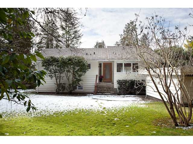 Main Photo: 5090 Keith Road in West Vancouver: Caulfeild House for sale : MLS®# v873137