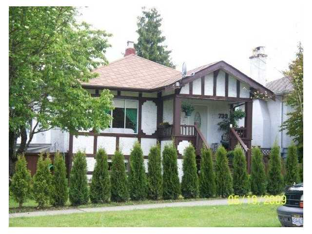 Main Photo: 733 2nd Street in New Westminster: GlenBrooke North House for sale : MLS® # V858132