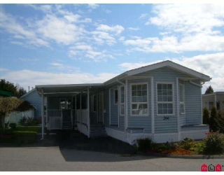 "Main Photo: 266 1840 160 Street in Surrey: King George Corridor Manufactured Home for sale in ""Breakaway Bays"" (South Surrey White Rock)  : MLS®# F2811728"