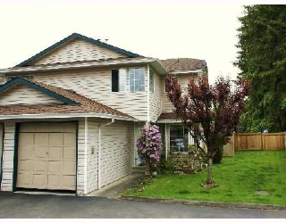 Main Photo: 6 21541 MAYO Place in Maple_Ridge: West Central Townhouse for sale (Maple Ridge)  : MLS® # V696031