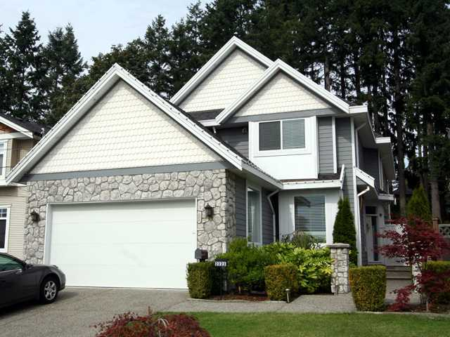 Main Photo: 2223 PARADISE AV in Coquitlam: Coquitlam East House for sale : MLS® # V850165