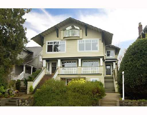 Main Photo: 3354 POINT GREY Road in Vancouver: Kitsilano House 1/2 Duplex for sale (Vancouver West)  : MLS® # V688370