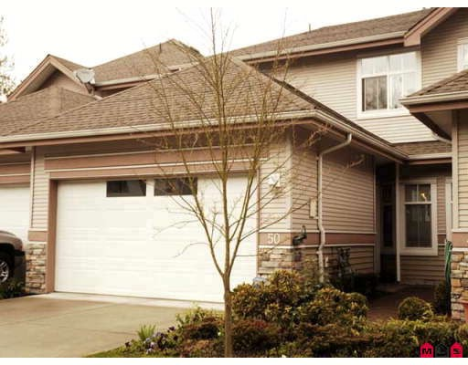 "Main Photo: 50 11860 RIVER Road in Surrey: Royal Heights Townhouse for sale in ""Cypress Ridge"" (North Surrey)  : MLS® # F2808841"