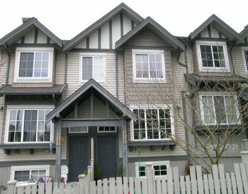 Main Photo: 9185 CAMERON Street in Burnaby: Sullivan Heights Townhouse for sale (Burnaby North)  : MLS® # V636381