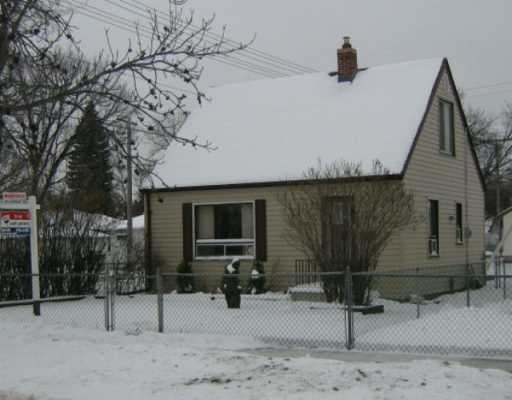 Main Photo: 471 DALTON Street in Winnipeg: North End Single Family Detached for sale (North West Winnipeg)  : MLS(r) # 2615688