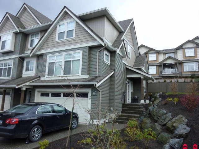 Main Photo: 49 5648 Promontory Road in Chilliwack: Townhouse  : MLS® # H1100925