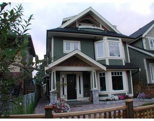 Main Photo: 1027 E 13TH Avenue in Vancouver: Mount Pleasant VE House 1/2 Duplex for sale (Vancouver East)  : MLS® # V666953