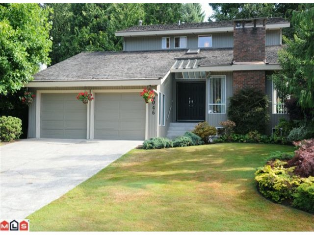 "Main Photo: 6046 INGLEWOOD PL in Delta: Sunshine Hills Woods House for sale in ""Sunshine Woods"" (N. Delta)  : MLS® # F1120689"
