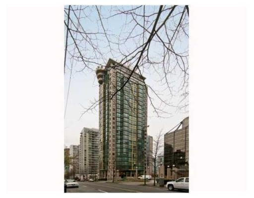 Main Photo: # 809 1367 ALBERNI ST in Vancouver: Downtown VW Condo for sale (Vancouver West)  : MLS® # V843437