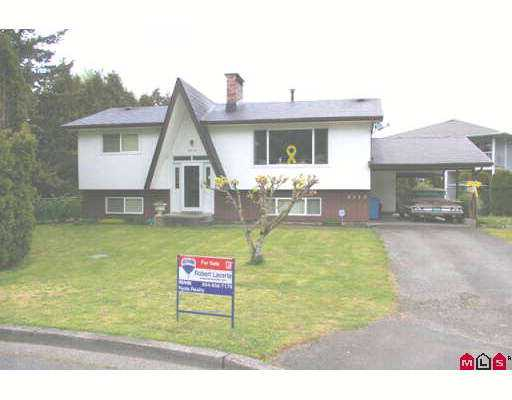 Main Photo: 8510 CRAMER Drive in Chilliwack: Chilliwack E Young-Yale House for sale : MLS® # H2701936