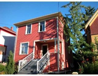 Main Photo: 2050 WILLIAM Street in Vancouver: Grandview VE House for sale (Vancouver East)  : MLS(r) # V658752